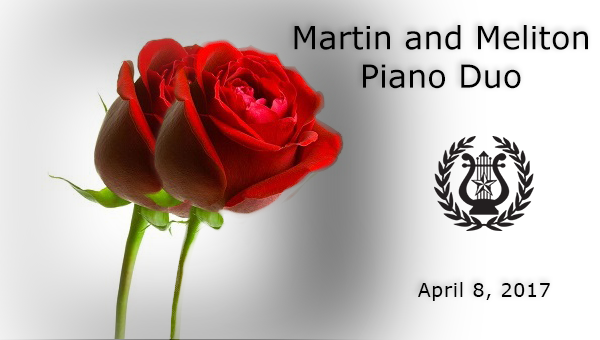 Martin and Meliton April 8