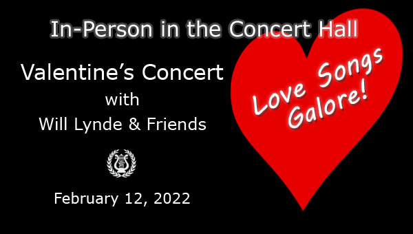 Valentines Concert February 9