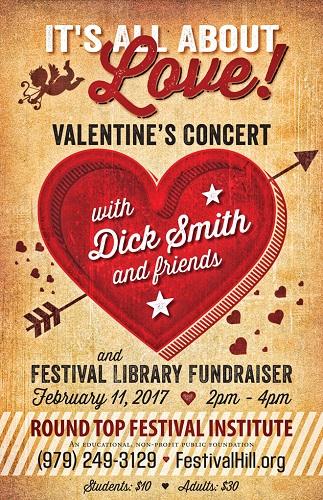 Valentine's Concert Poster