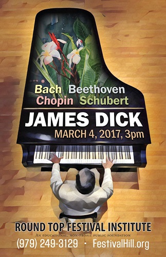 James Dick Concert Poster