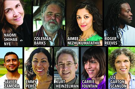 2018 Poetry Speakers