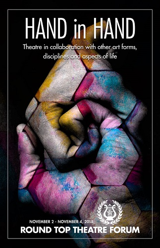 2018 Theatre Forum Brochure Cover