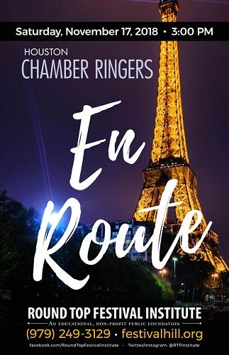 Houston Chamber Ringers Poster