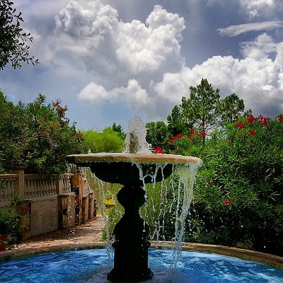 Festival Hill Water Fountain