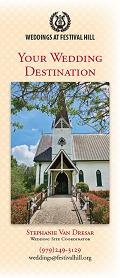Weddings at Festival Hill Brochure