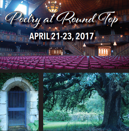 Poetry at Round Top This Weekend!