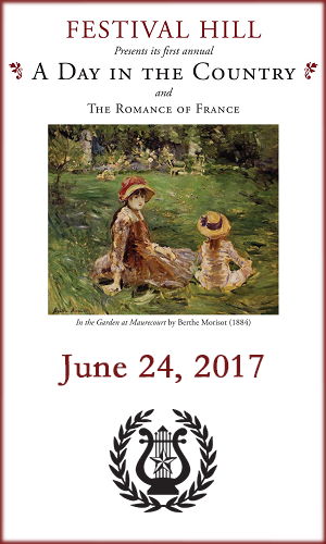 A Day in the Country at Festival Hill - June 24