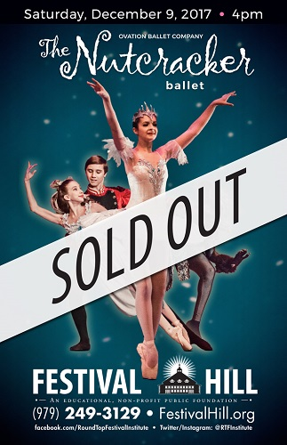 Nutcracker Ballet at Festival Hill - SOLD OUT