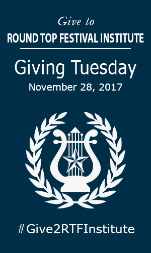 Giving Tuesday at Festival Hill - The Excitement is Building