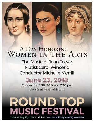 A Day Honoring Women in the Arts