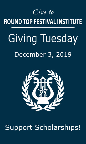 Giving Tuesday at Festival Hill on December 3