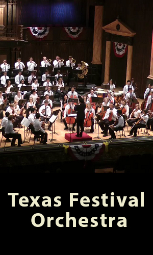 Closing Week of the Round Top Music Festival