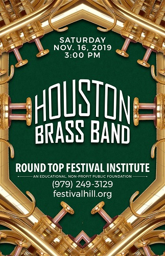 Houston Brass Band November 16 at Festival Hill