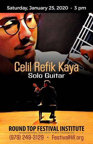 Celil Refik Kaya Returns to Festival Hill January 25
