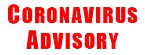 Coronavirus Advisory