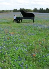 This Piano Concert in a Bluebonnet Field May be the Most Magical Texas Thing Ever