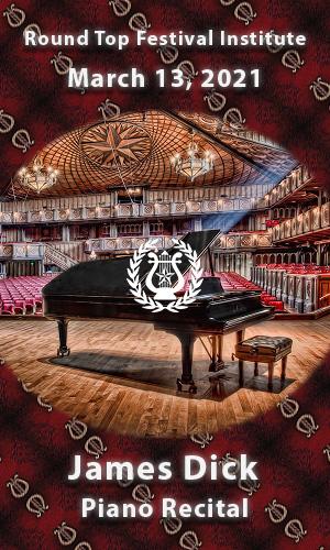 James Dick Piano Recital March 13