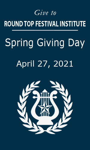 Spring Giving Day at Festival Hill was a Great Success!