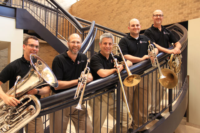 Texas Tech Brass Quintet