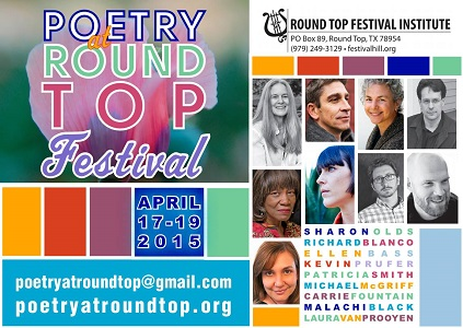 Poetry Forum at Round Top April 17-19