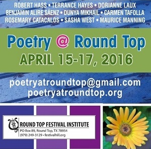 2016 Poetry at Round Top Registration is Open