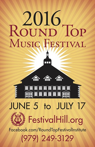 Tickets for Round Top Music Festival Available Online
