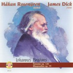 Sonatas and Rhapsodies by J. Brahms
