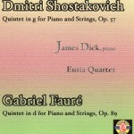 Quintet in g for Piano and Strings by D. Shostakovich