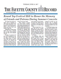 FCR Reprint Memorials 06-13-17 Thumbnail