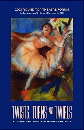 2021 Theatre Forum Brochure Cover