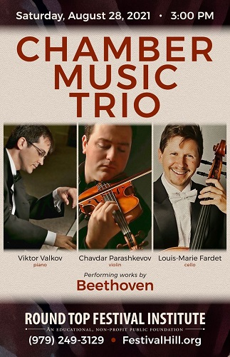 Chamber Music Trio Opens Concert Series on August 28